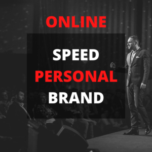 Speed Personal Brand- online